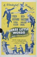 Three Little Words movie poster (1950) picture MOV_c9c75e28