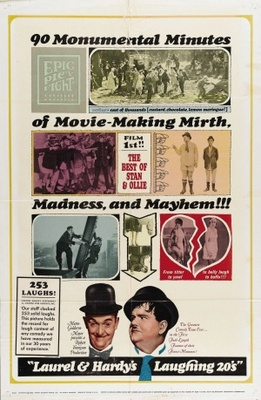 Laurel and Hardy's Laughing 20's movie poster (1965) poster MOV_c9e289a2