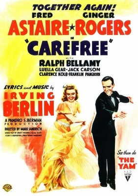 Carefree movie poster (1938) poster MOV_ca11ba29