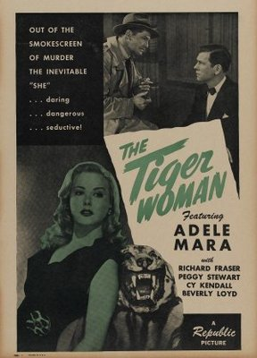 The Tiger Woman movie poster (1945) poster MOV_ca575f47