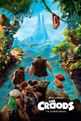 The Croods movie poster (2013) poster MOV_ca635b79