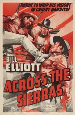 Across the Sierras movie poster (1941) poster MOV_ca661bd9