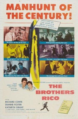 The Brothers Rico movie poster (1957) poster MOV_ca74ec8b