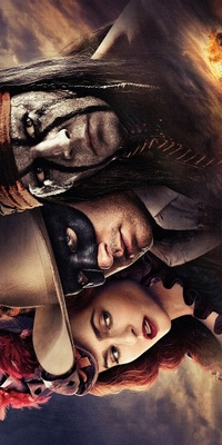 The Lone Ranger movie poster (2013) poster MOV_ca7a1eff