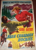 Blue Canadian Rockies movie poster (1952) picture MOV_ca7d4933