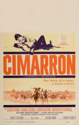 Cimarron movie poster (1960) poster MOV_ca8ce692