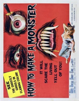 How to Make a Monster movie poster (1958) poster MOV_caa618bc
