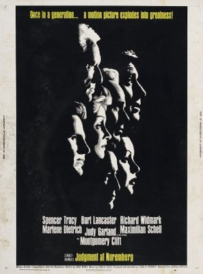 Judgment at Nuremberg movie poster (1961) poster MOV_cab9df76