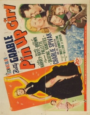 Pin Up Girl movie poster (1944) poster MOV_cad2830a
