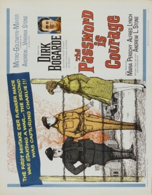The Password Is Courage movie poster (1962) poster MOV_cad71c40