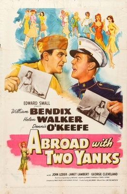 Abroad with Two Yanks movie poster (1944) poster MOV_cafa753c