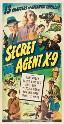 Secret Agent X-9 movie poster (1945) poster MOV_cb021b1c