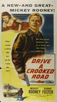 Drive a Crooked Road movie poster (1954) picture MOV_cb0bc93f