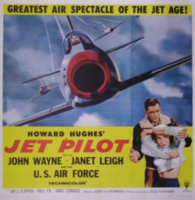 Jet Pilot movie poster (1957) poster MOV_cb231c29