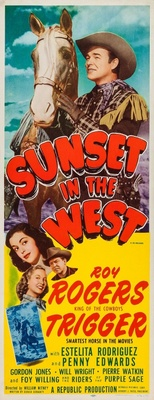Sunset in the West movie poster (1950) poster MOV_cb414aad