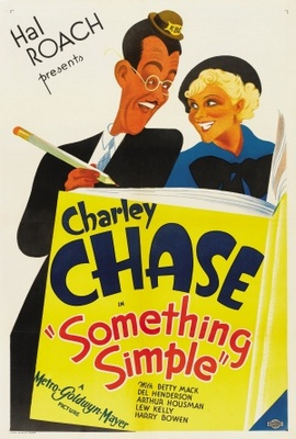 Something Simple movie poster (1934) poster MOV_cb4eb138