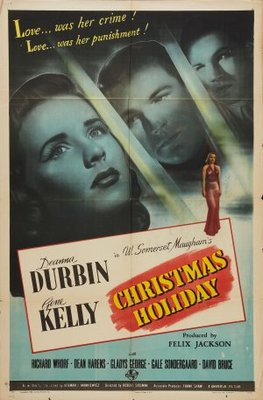 Christmas Holiday movie poster (1944) poster MOV_cb5969cc