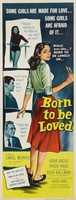 Born to Be Loved movie poster (1959) picture MOV_cb684303
