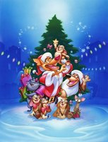 An All Dogs Christmas Carol movie poster (1998) picture MOV_cb7a773b