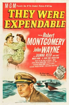 They Were Expendable movie poster (1945) poster MOV_cb90a76e