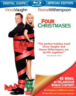 Four Christmases movie poster (2008) poster MOV_cb9a8cbd
