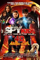Spy Kids 4: All the Time in the World movie poster (2011) picture MOV_cbbb796f