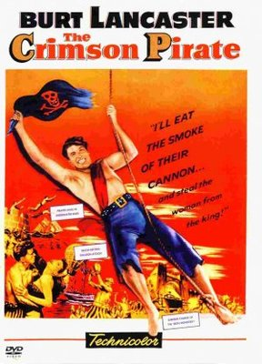 The Crimson Pirate movie poster (1952) poster MOV_cbe48776