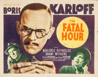 The Fatal Hour movie poster (1940) picture MOV_cbnuckth