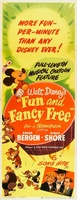 Fun and Fancy Free movie poster (1947) picture MOV_cc05921a