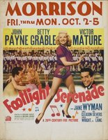 Footlight Serenade movie poster (1942) picture MOV_cc19e56d