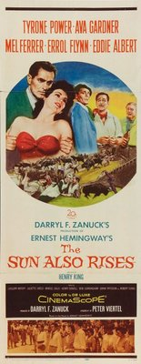 The Sun Also Rises movie poster (1957) poster MOV_cc1b7d47