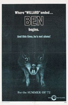 Ben movie poster (1972) poster MOV_cc260fe1