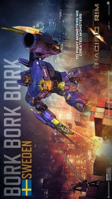 Pacific Rim movie poster (2013) poster MOV_cc2cc110
