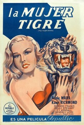 The Tiger Woman movie poster (1945) poster MOV_cc30fdbc