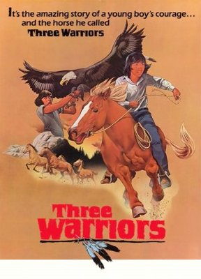 Three Warriors movie poster (1977) poster MOV_cc33b34d