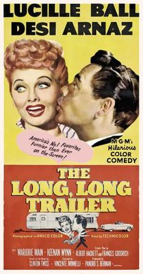 The Long, Long Trailer movie poster (1954) poster MOV_cc43481a