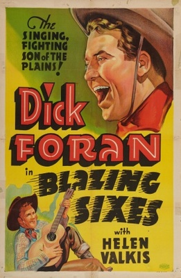 Blazing Sixes movie poster (1937) poster MOV_cc531073