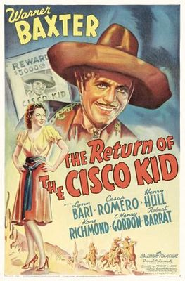 Return of the Cisco Kid movie poster (1939) poster MOV_cc9156d7