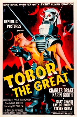 Tobor the Great movie poster (1954) poster MOV_ccb5b946