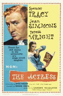 The Actress movie poster (1953) poster MOV_ccb7c418