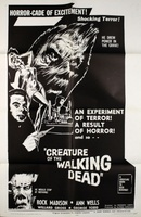 Creature of the Walking Dead movie poster (1965) picture MOV_ccbe2c98