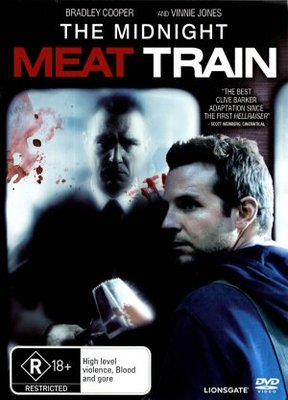 The Midnight Meat Train movie poster (2008) poster MOV_ccc42d73