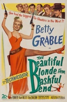 The Beautiful Blonde from Bashful Bend movie poster (1949) picture MOV_ccdf349a