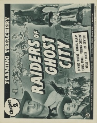 Raiders of Ghost City movie poster (1944) poster MOV_cce1dc7e