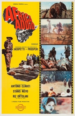 Africa addio movie poster (1966) poster MOV_cce7d9dd