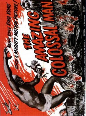 The Amazing Colossal Man movie poster (1957) poster MOV_ccf0b971
