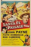 Santa Fe Passage movie poster (1955) picture MOV_ccfc387b