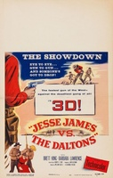 Jesse James vs. the Daltons movie poster (1954) picture MOV_cd0bdd3e