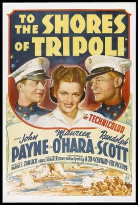 To the Shores of Tripoli movie poster (1942) poster MOV_cd221cdc