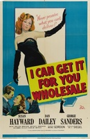 I Can Get It for You Wholesale movie poster (1951) picture MOV_cd27e3fd